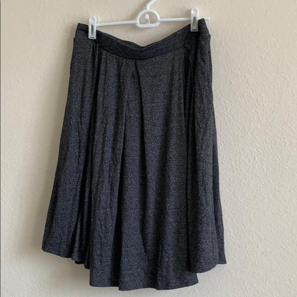 Gray LuLaRoe skirt